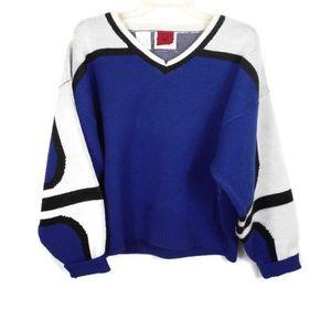 Vintage 90's Spyder Heavy Wool Blend Ski Sweater